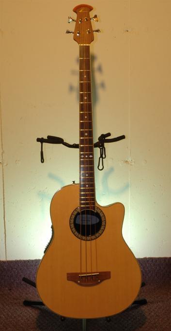 Ovation acoustic bass