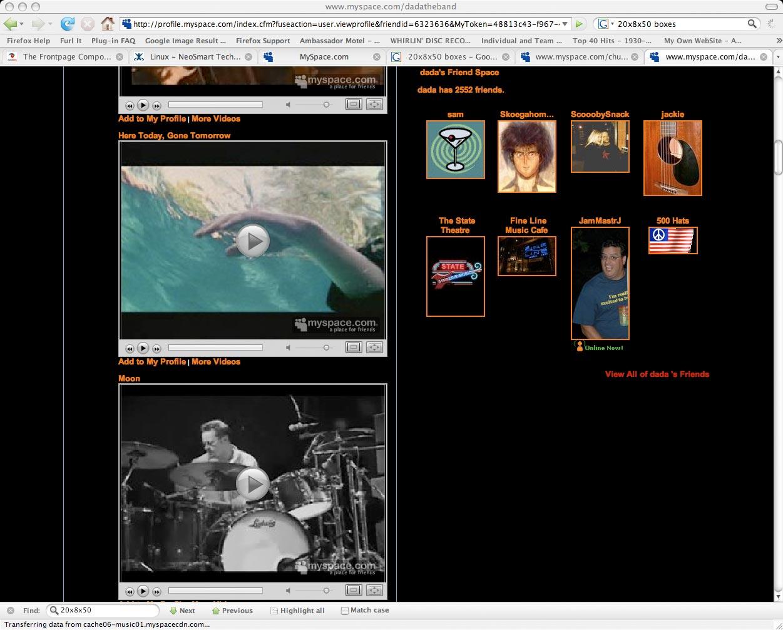 Jammastrj #7 on dada's Myspace Page