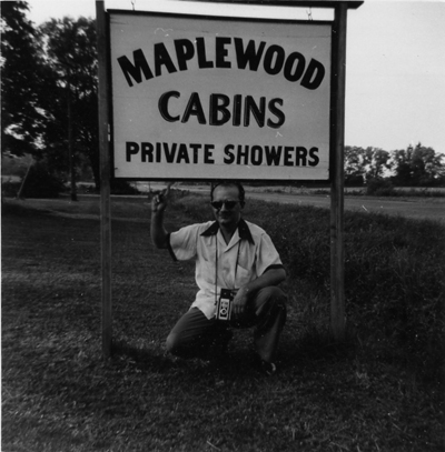 Dad Maplewood Cabins