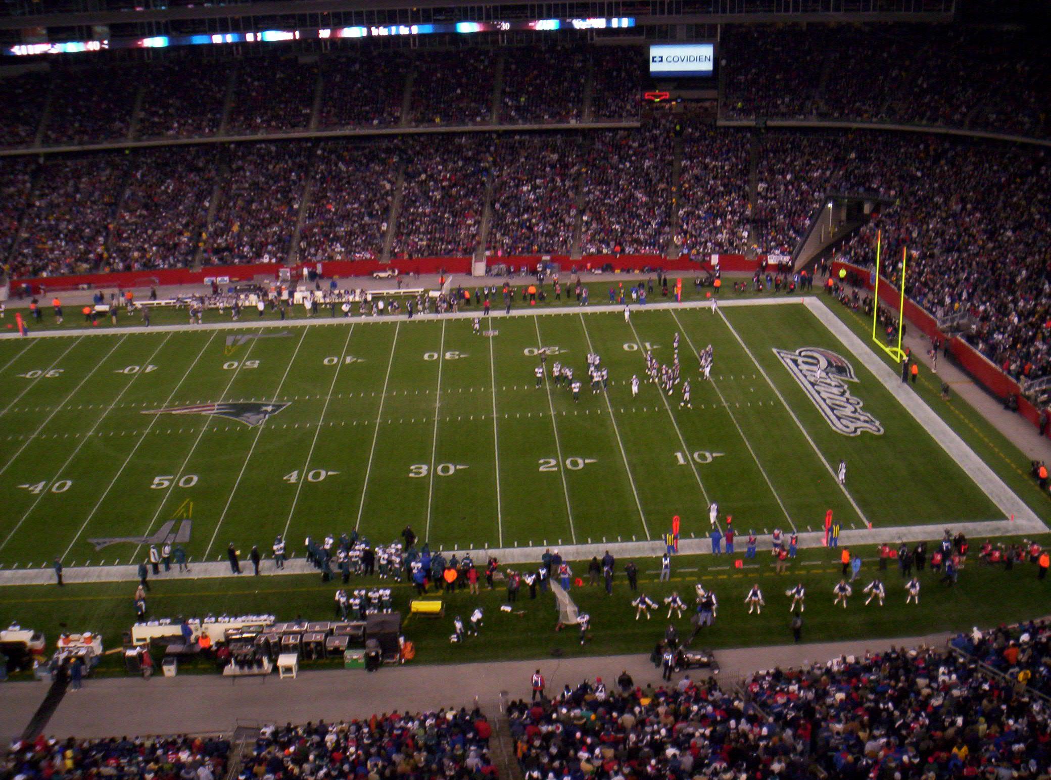 Patriots Game!