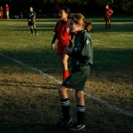 Soccer – bad shadows