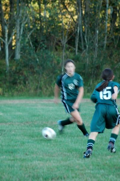 Soccer - Low light, blurry
